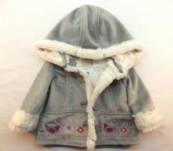 Kojenecký / batolecí dívčí kabátek