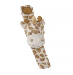 Suki Baby Plyšové chrastítko na zápěstí – žirafa