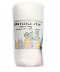 Soft Touch Fleecová deka do postýlky