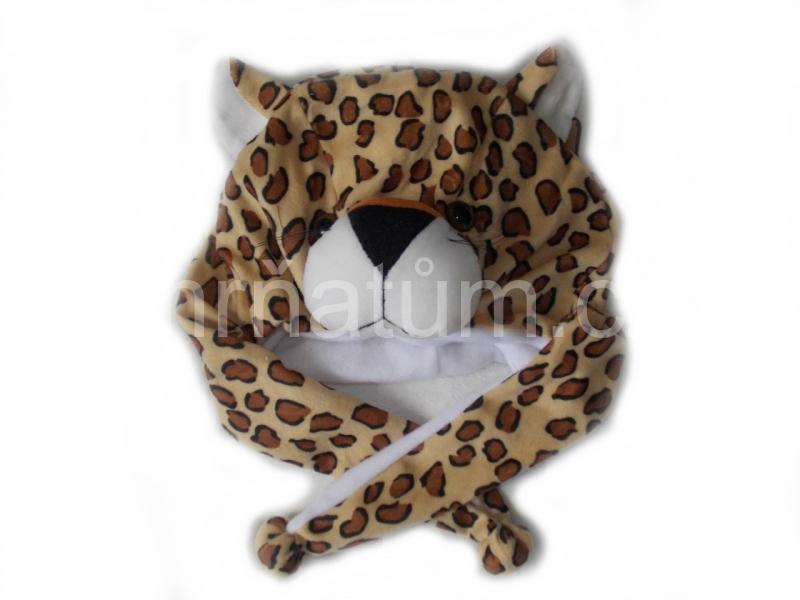 Kojenecká čepička se zvířecím motivem Motiv Gepard
