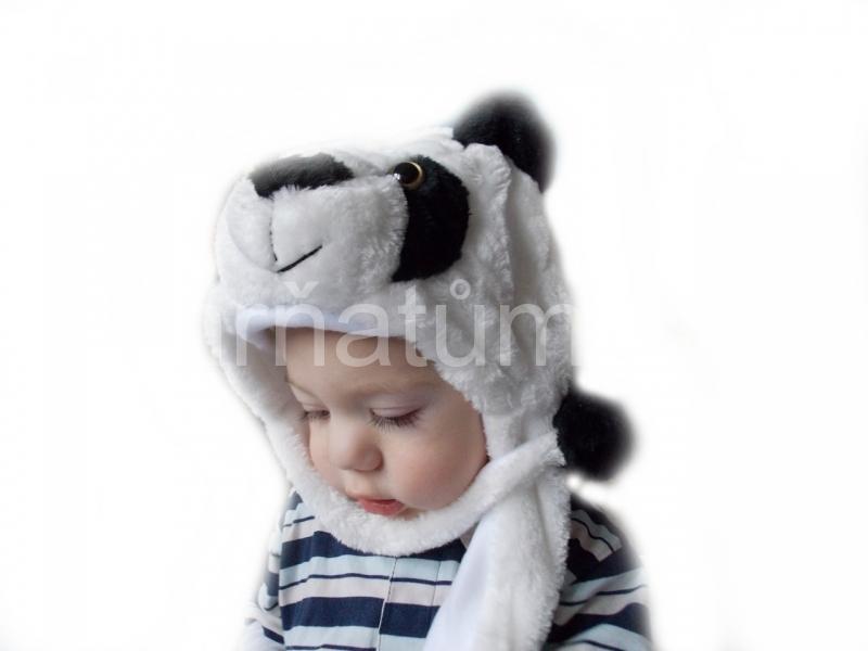 Kojenecká čepička se zvířecím motivem Motiv Panda
