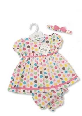 Nursery Time Kojenecké šatičky s kalhotkami a čelenkou Barva Růžové doplňky, Věk 0-3