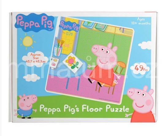 Prasátko Peppa Dřevěné puzzle